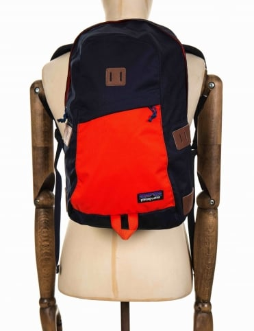 Ironwood 20L Backpack - Navy Blue/Paintbrush Red