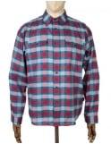 Patagonia L/S Buckshot Check Shirt - Classic Red