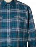 Patagonia L/S Buckshot Check Shirt - Crater Blue