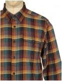 Patagonia L/S LW Fjord Flannel Shirt - Navigate: Tapenade