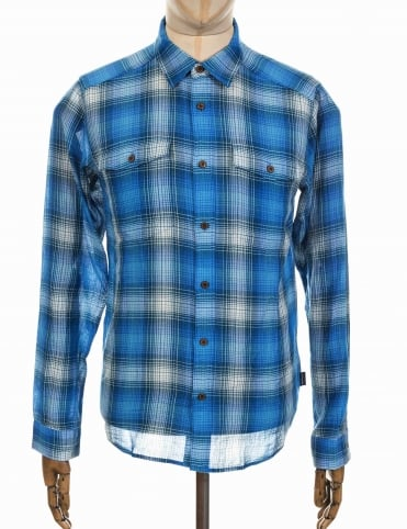 Patagonia L/S Steersman Shirt - Costa: Big Sur Blue