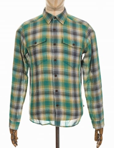 Patagonia L/S Steersman Shirt - Costa: True Teal