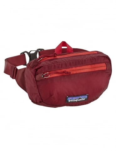 Lightweight Travel Mini Hip Pack 1L - Oxide Red