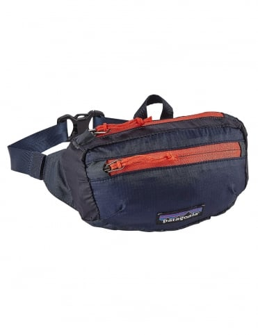 Lightweight Travel Mini Hip Pack 1L - Smolder Blue
