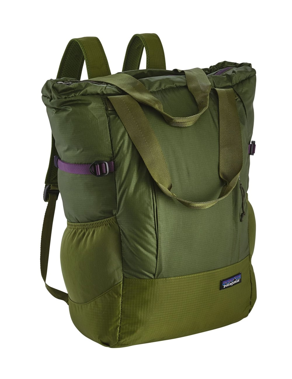 Lightweight Travel Tote Bag Sprouted Green