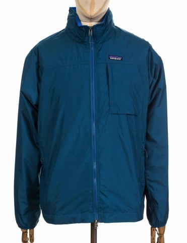 LW Crankset Jacket - Big Sur Blue