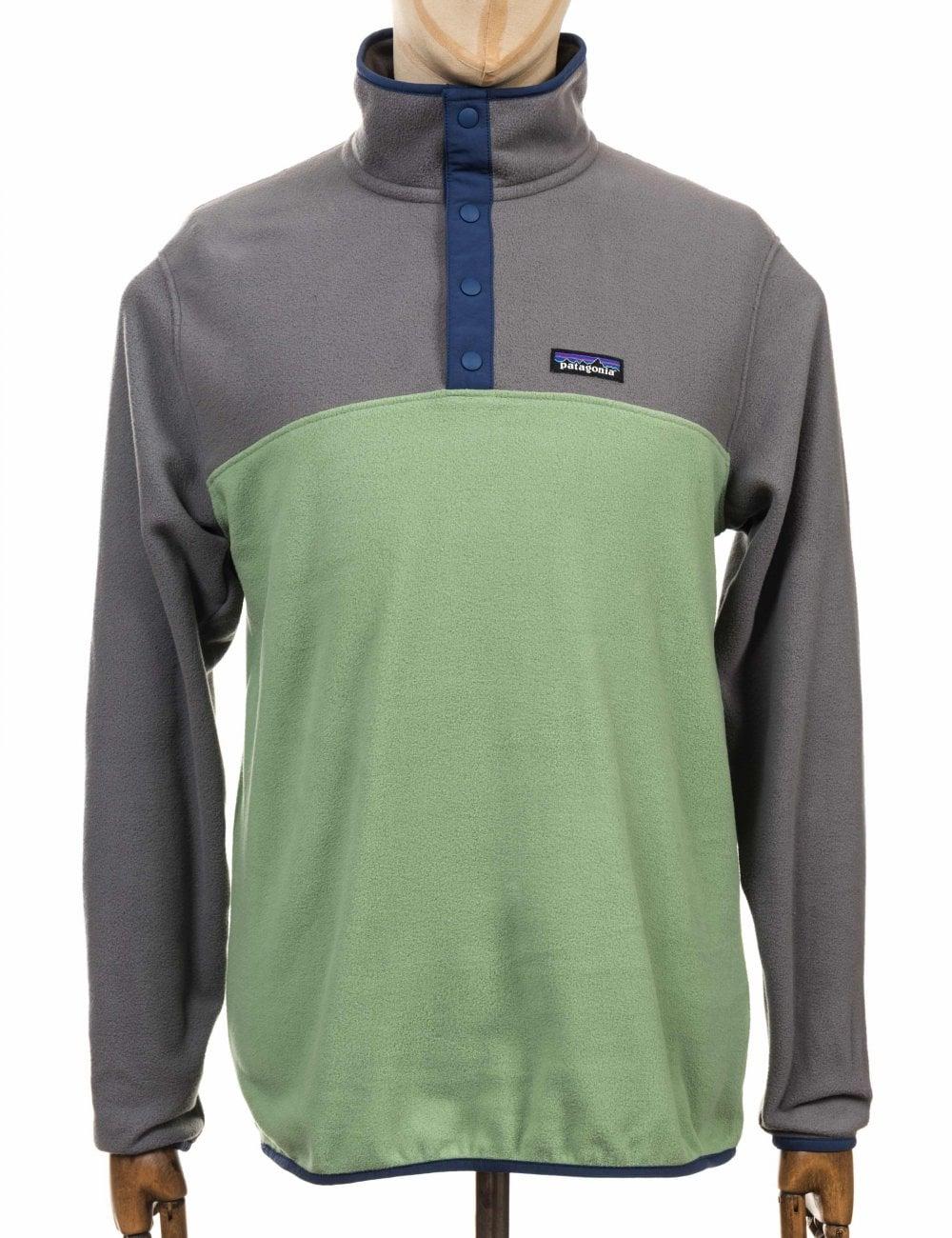 dcebc5719b9 Patagonia Micro D Snap-T Fleece Pullover - Matcha Green
