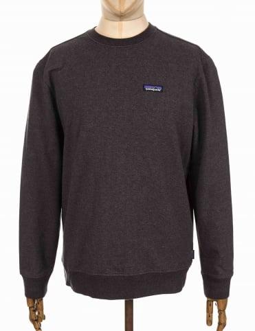 Patagonia P-6 Label Midweight Crew Sweatshirt - Black
