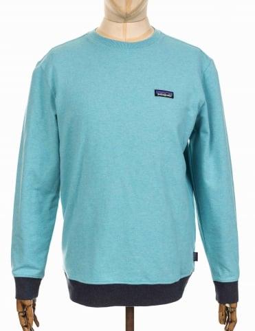Patagonia P-6 Label Midweight Crew Sweatshirt - Crevasse Blue