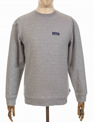 Patagonia P-6 Label Sweatshirt - Feather Grey