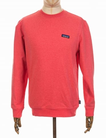 Patagonia P-6 Label Sweatshirt - Spiced Coral