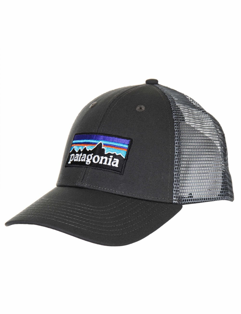 2d0c806f5d4cc Patagonia P-6 Logo LoPro Trucker Hat - Forge Grey w Forge Grey ...