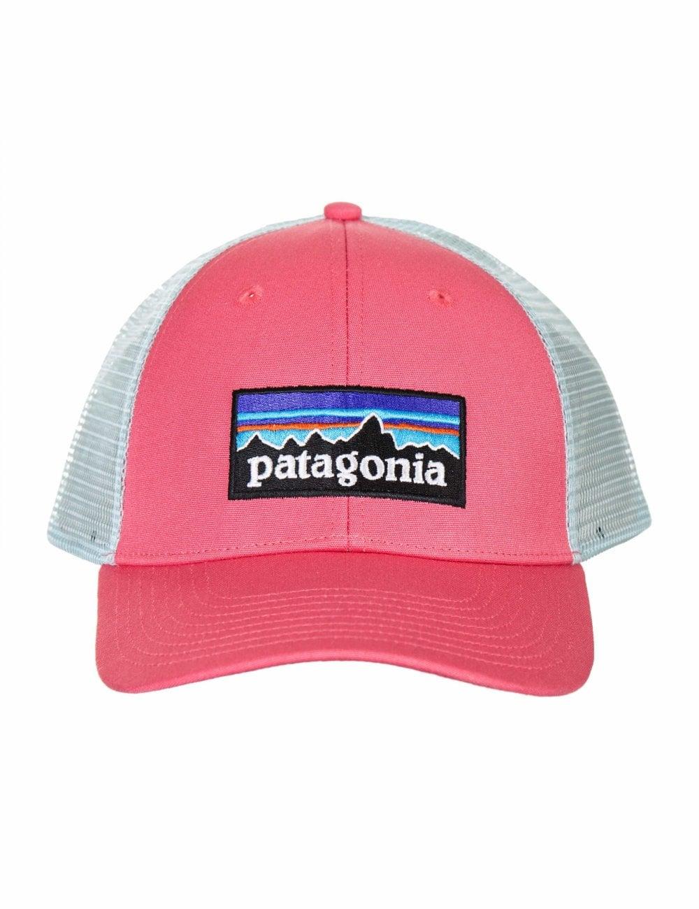 8f759b06e3b34 Patagonia P-6 Logo LoPro Trucker Hat - Sticker Pink - Accessories ...