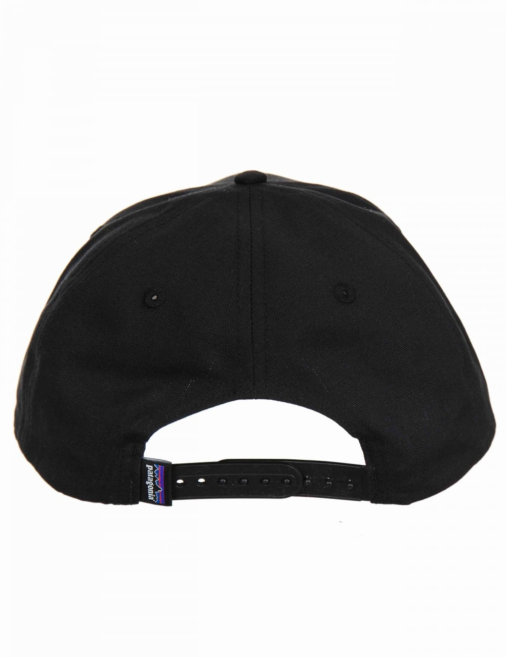 Patagonia P-6 Logo Roger That Hat - Black - Accessories from Fat ... 786143a92bd