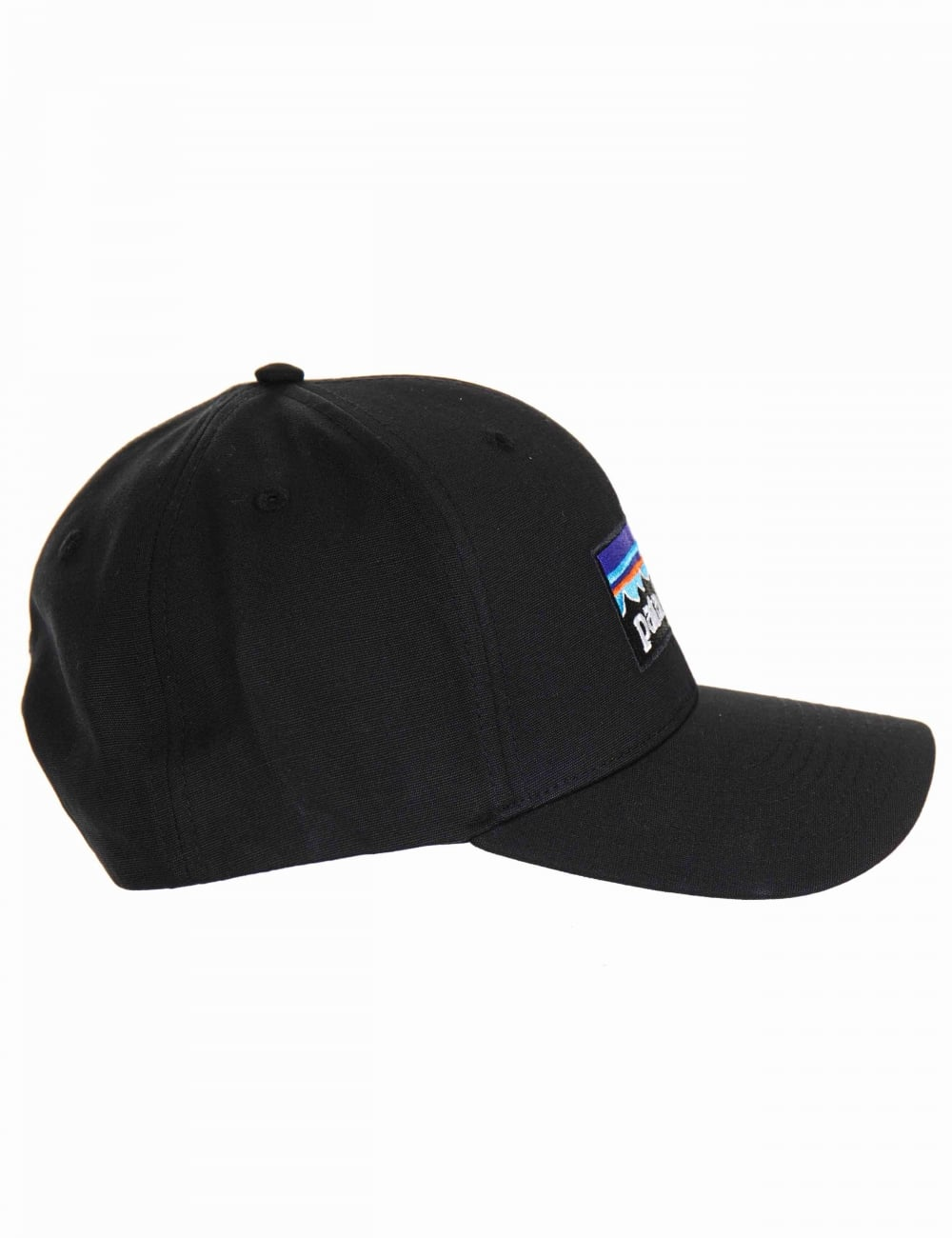 Patagonia P-6 Logo Roger That Hat - Black - Accessories from Fat ... 2440e6d96fe6
