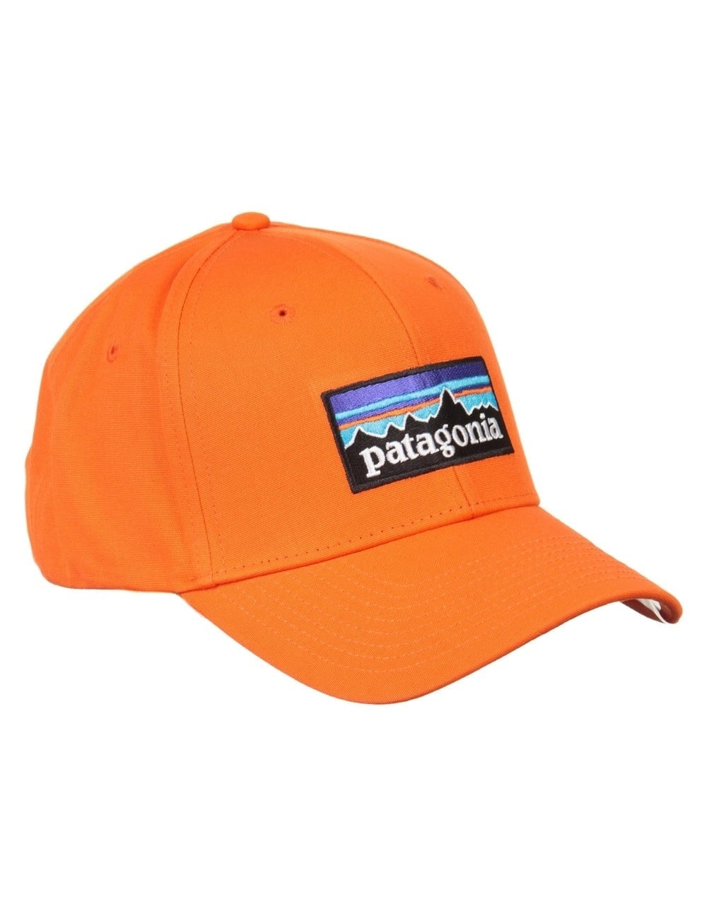 875e1d01 Patagonia P-6 Logo Roger That Hat - Campfire Orange - Accessories ...