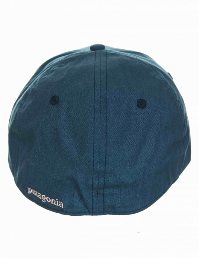 e3958427 Patagonia P-6 Logo Stretch Fit Hat - Baby Blue - Accessories from ...