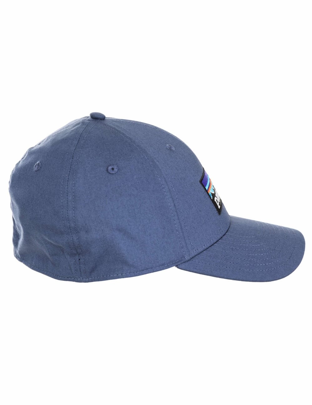Patagonia P-6 Logo Stretch Fit Hat - Dolomite Blue - Accessories ... e8b335f0138