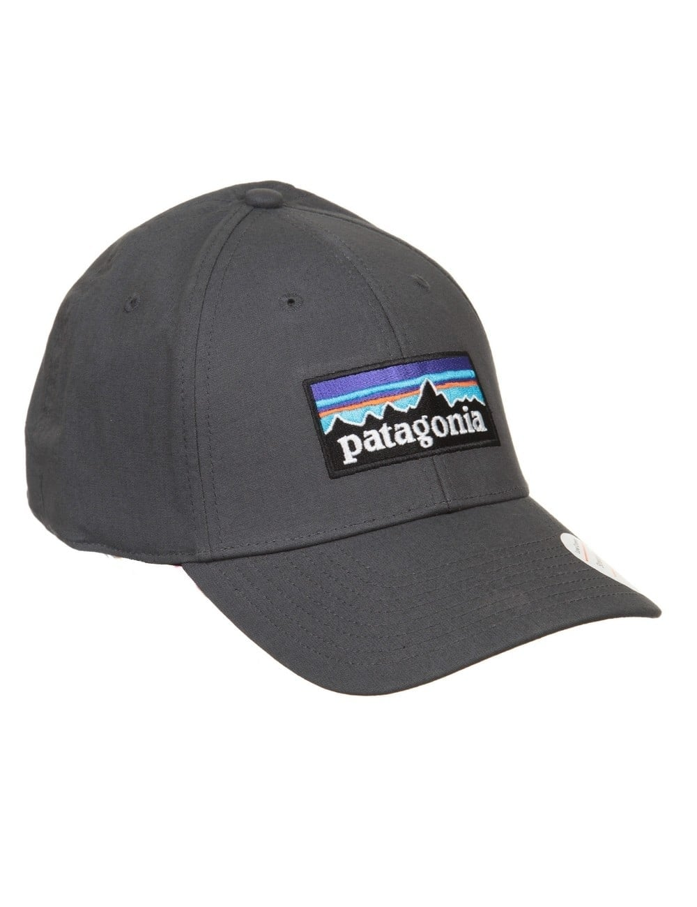 67110326fd6 Patagonia P-6 Logo Stretch Fit Hat - Forge Grey - Accessories from ...