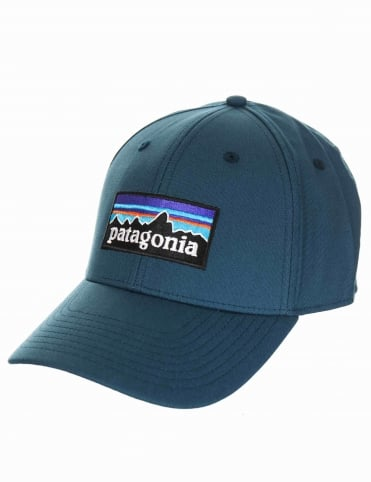 P-6 Logo Stretch Hat - Baby Blue