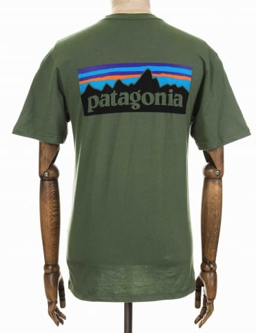 P-6 Logo Tee - Buffalo Green