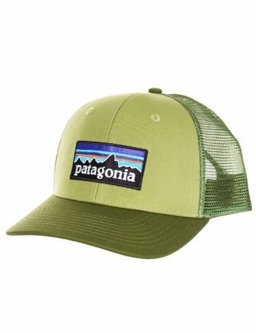 P-6 Logo Trucker Hat - Crag Green