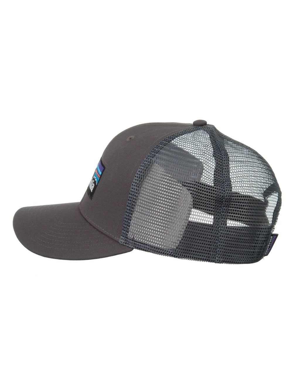 dbff72010 P-6 Logo Trucker Hat - Forge Grey