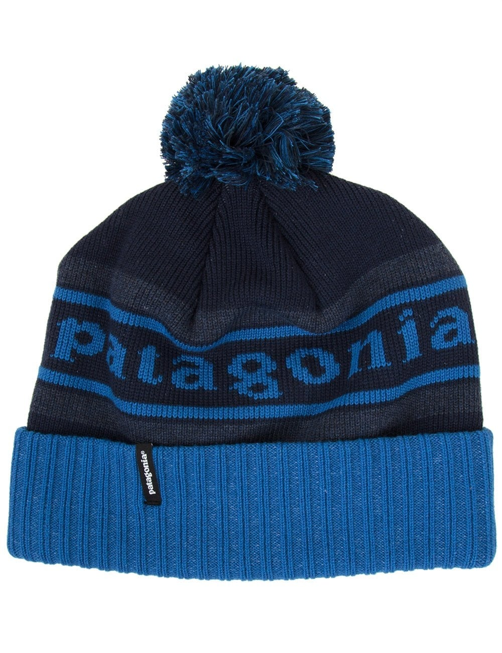 c1f5e6245ad Patagonia Powder Town Beanie - Glass Blue - Accessories from Fat ...