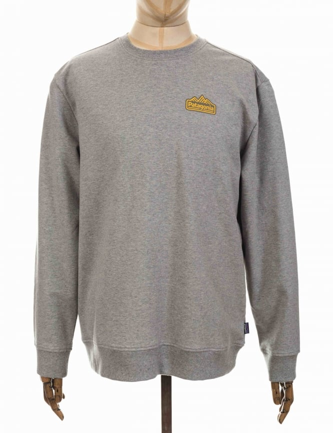 Patagonia Range Station Midweight Sweatshirt - Feather Grey