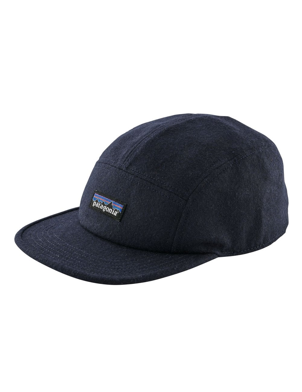 Patagonia Recycled Wool 5 Panel Cap - Classic Navy - Accessories ... 8c559cd74f2