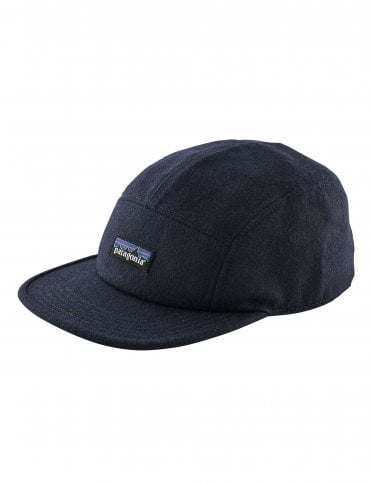 3705e1cd4f0 Patagonia Recycled Wool 5 Panel Cap - Classic Navy