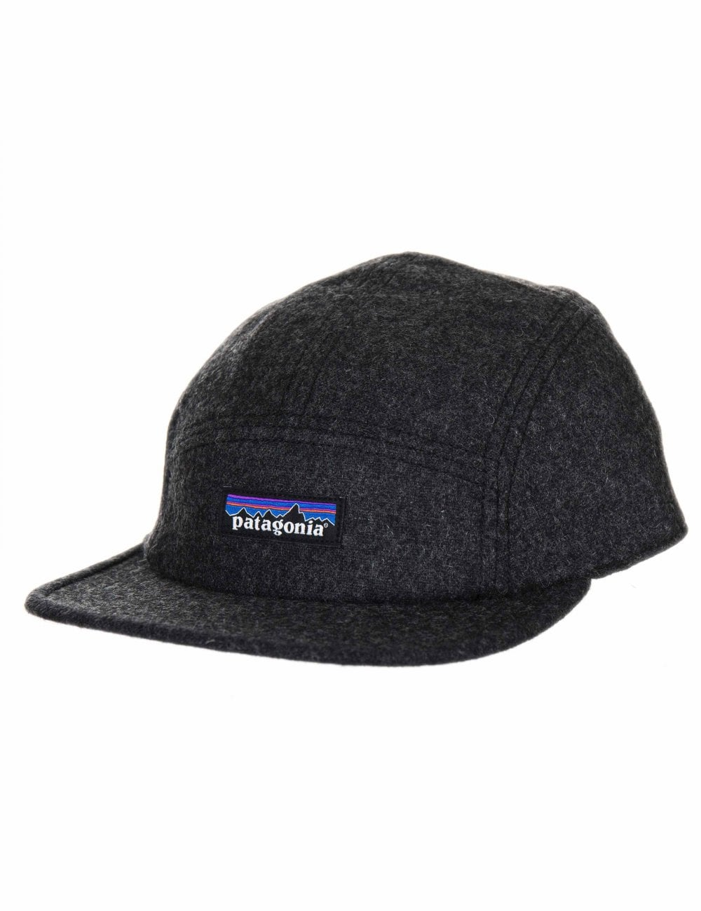 85257794459 Patagonia Recycled Wool 5 Panel Cap - Forge Grey - Accessories from ...