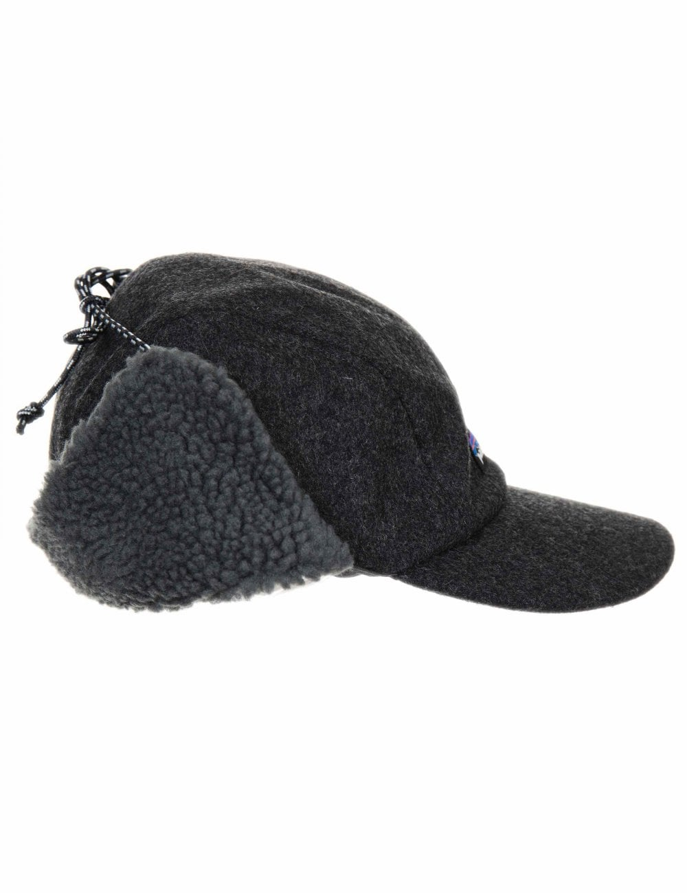 b251dc81ff34d Patagonia Recycled Wool Ear Flap Cap - Forge Grey - Accessories from ...