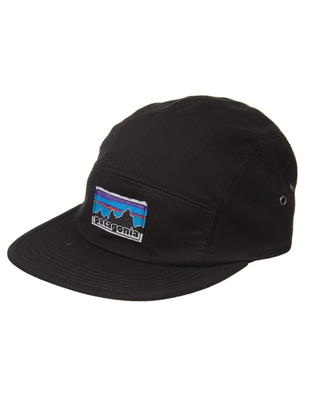 Patagonia Retro Fitz Roy Label Tradesmith Cap - Black - Accessories ... 71866ea813f
