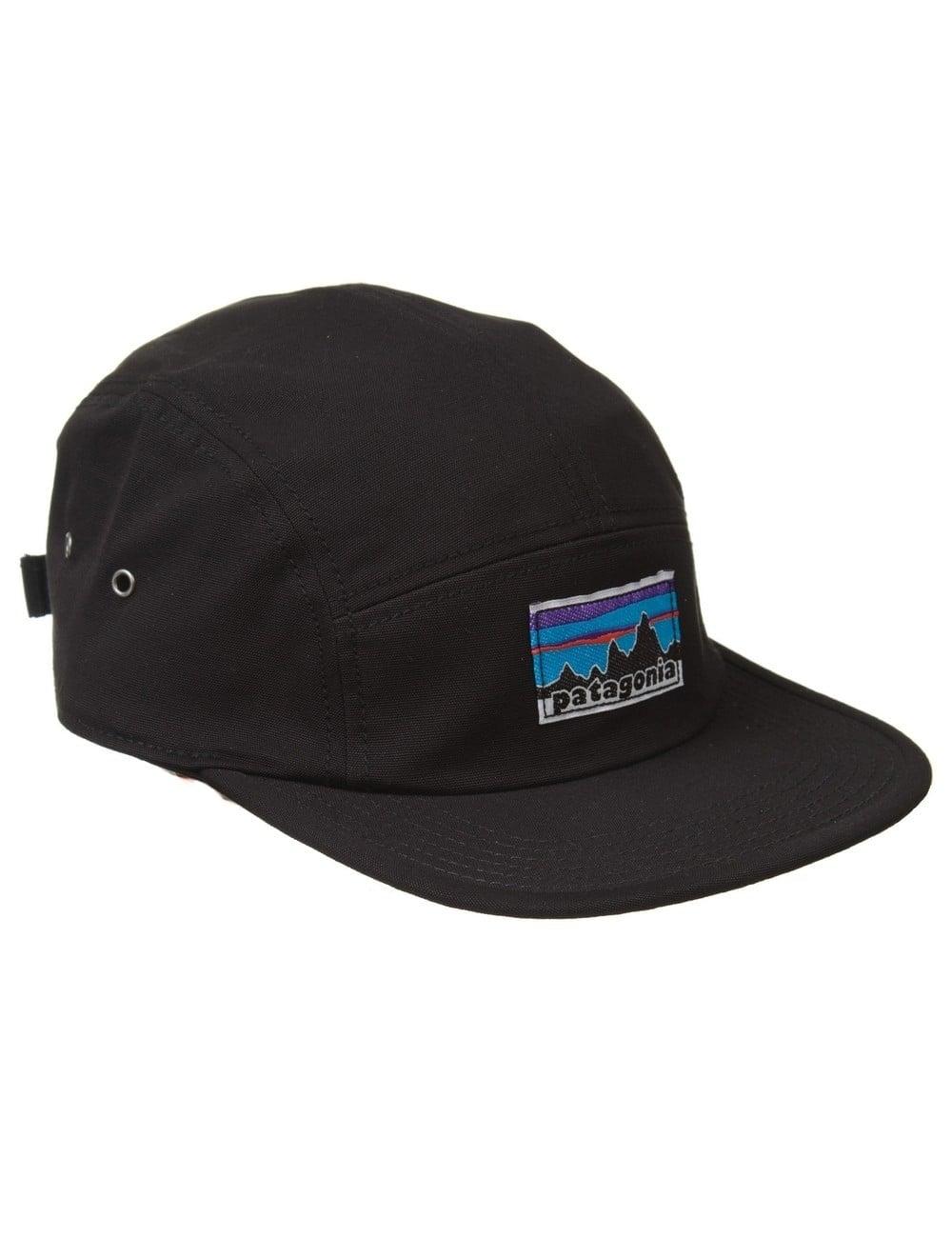 2bd6449e82a3e Patagonia Retro Fitz Roy Label Tradesmith Cap - Black - Accessories ...