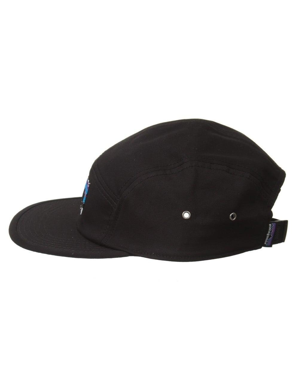 Patagonia Retro Fitz Roy Label Tradesmith Cap - Black - Accessories ... 90477d765540
