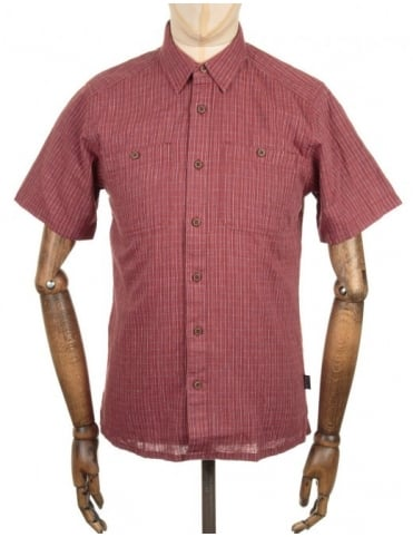 Patagonia S/S Back Step Shirt - Rusted Iron