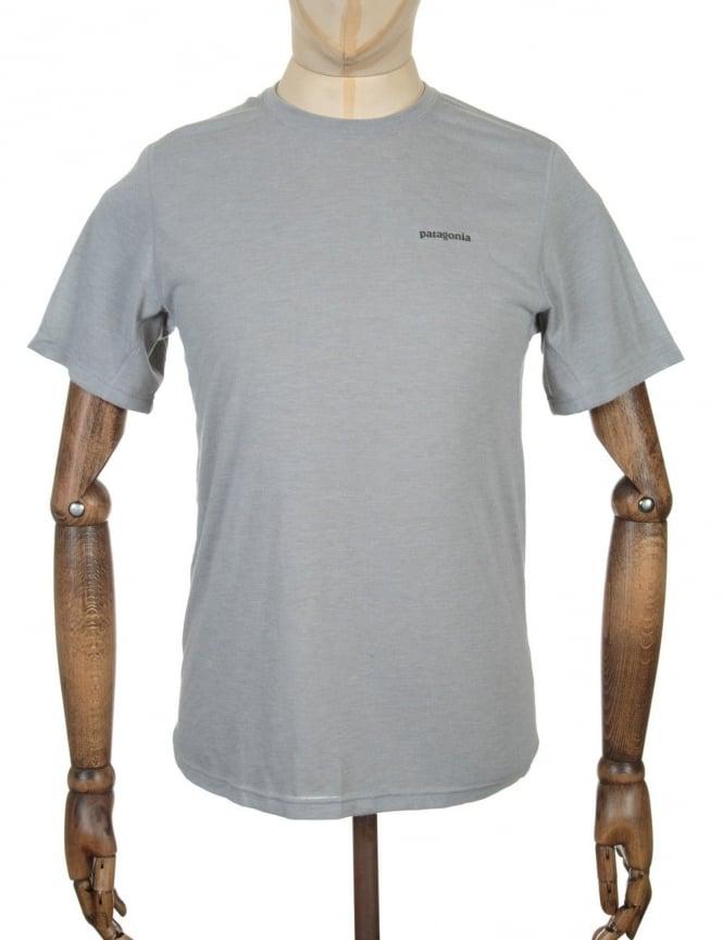 Patagonia S/S Nine Trails T-shirt - Drifter Grey