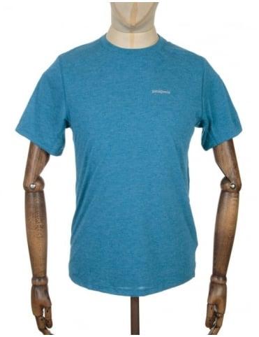 Patagonia S/S Nine Trails T-shirt - Underwater Blue