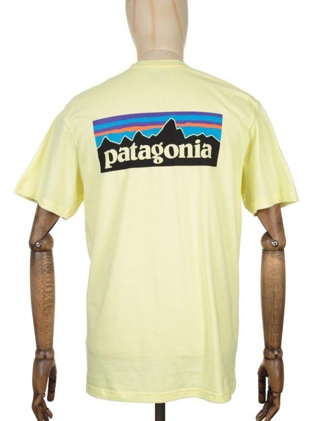 Patagonia S/S P-6 Logo T-shirt - Lite Blazing Yellow