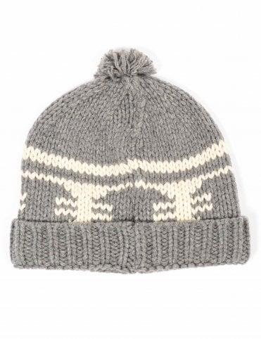 41da6792e3839 Patagonia Sapka Beanie Hat - Siphon Stripe  Lt Fea Grey