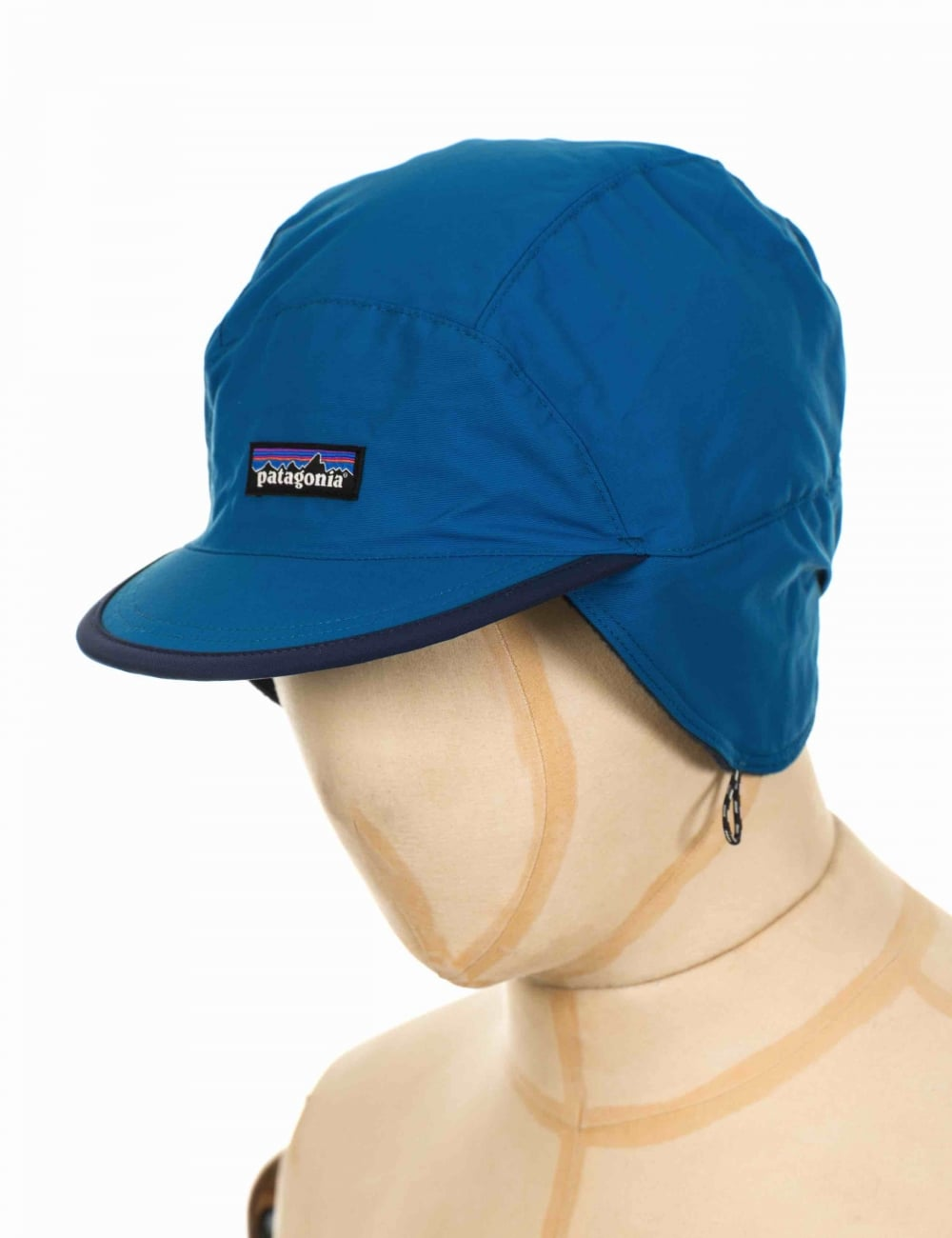 7fc4f96beaef8 Patagonia Shelled Synchilla Duckbill Cap - Big Sur Blue - Hat Shop ...