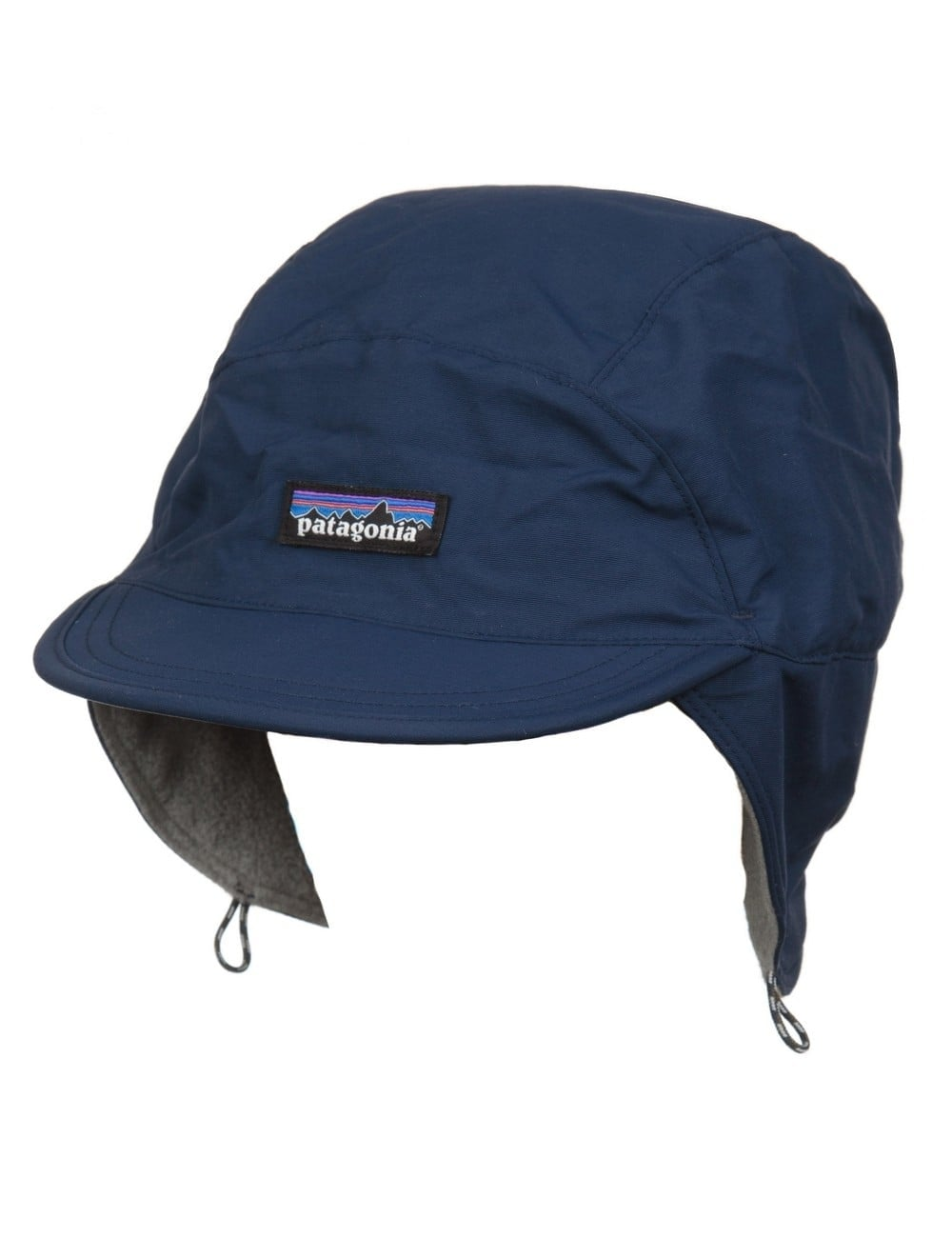 Patagonia Shelled Synchilla Duckbill Cap - Navy Feather Grey ... 645f5dce896