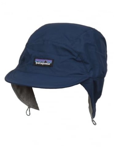 Patagonia Shelled Synchilla Duckbill Cap - Navy/Feather Grey