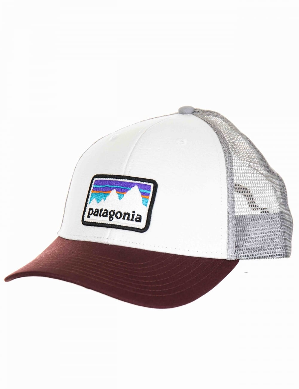 0fdcb3ee6a5 Patagonia Shop Sticker Patch LoPro Trucker Hat - White - Accessories ...