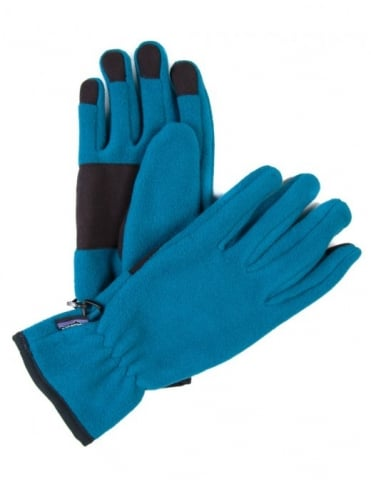 Patagonia Synchilla Gloves - Underwater Blue