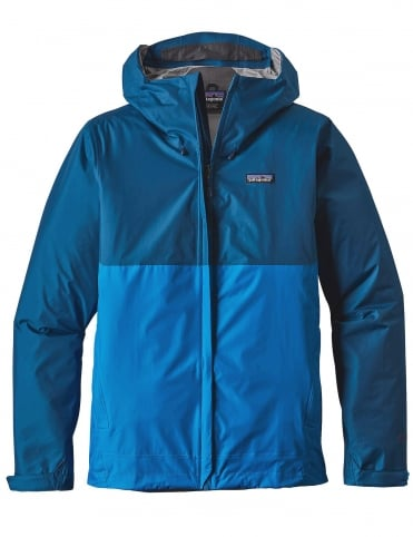Patagonia Torrentshell Jacket - Big Sur Blue/Andes Blue