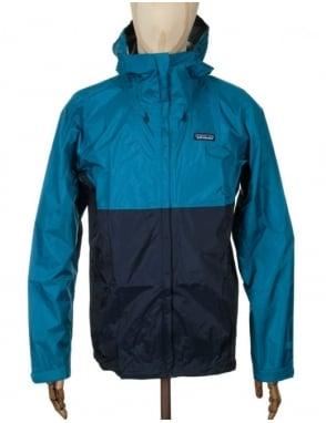 Patagonia Torrentshell Jacket - Underwater Blue/Navy