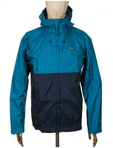 Patagonia Torrentshell Jacket - Underwater Blue/Navy