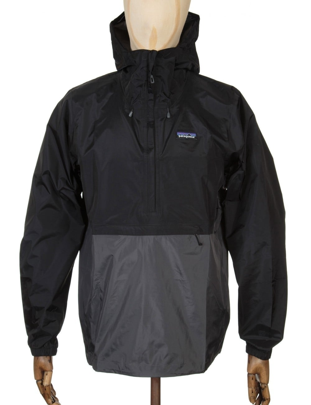 Patagonia Torrentshell Pullover Jacket - Black - Clothing from Fat ...